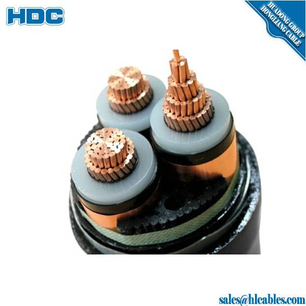 11kV 15kV 33kV three phase price high voltage power cable 3x240mm 240 sq mm 240mm xlpe 3 core