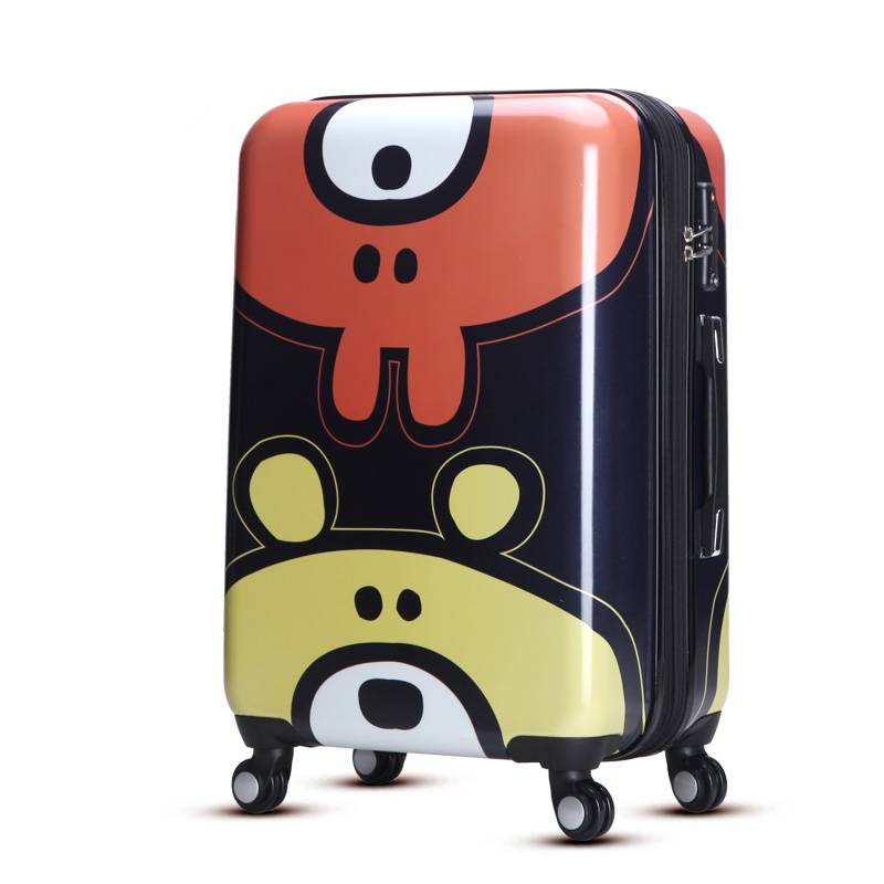 Lovely little bear hard case abs pc trolley luggage
