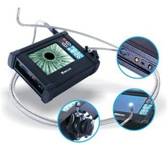 "10m 4ways articulation borescope 5.6"" LCD Metal casting iron videoscope with 10mm camera Aircraft ma"