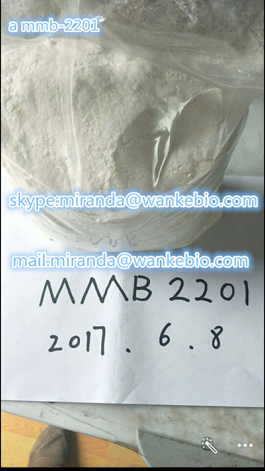 a mmb-2201 1616253-26-9 C20H27FN2O3 mail/skype:miranda(@)wankebio.com