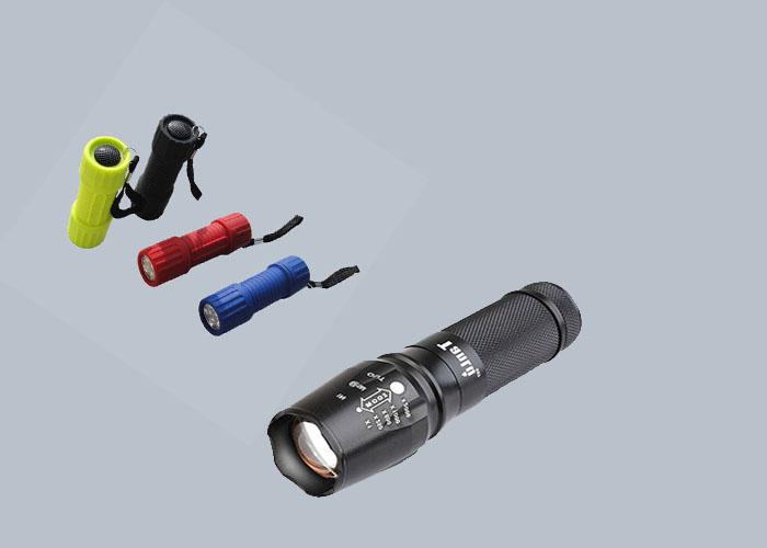 waterproof LED Flashlight brightest Flashlight