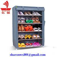 Modern personal corner shoe rack with nice price