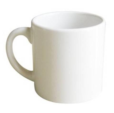 6oz Sublimation white mug