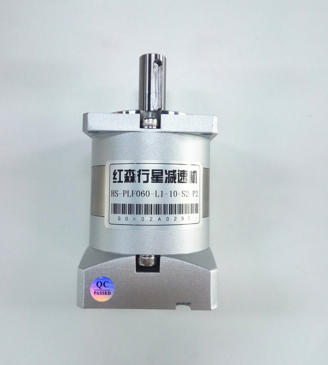China Made HS-PLF060-L1-10-S2-P2 Hong Sen Planetary Gearbox