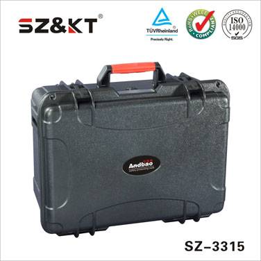 IP67 hard plastic abs tool case with foam
