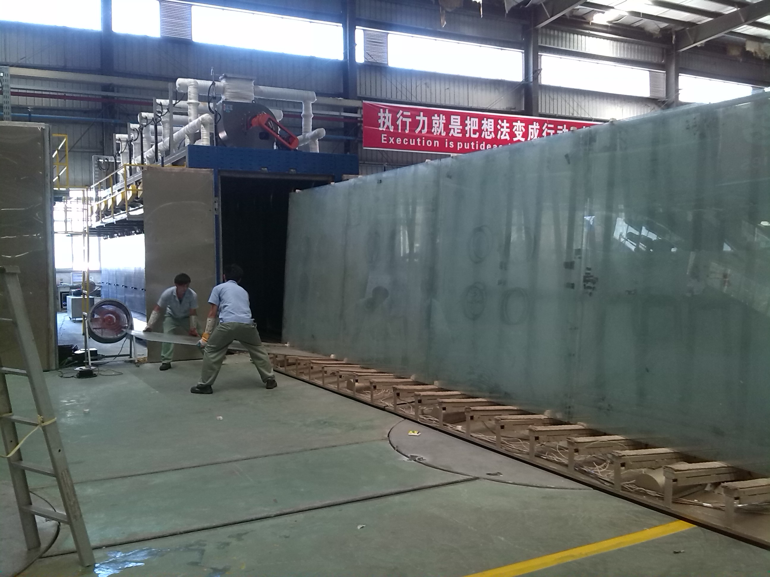 Glass Heating Tempering Furnace