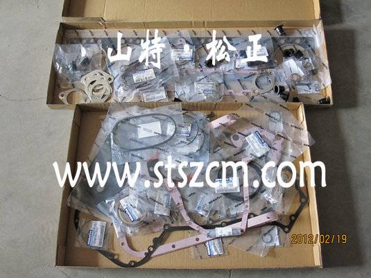 Repair kits 6221-K1-9900,6221-K2-9900,komatsu 6D108 engine spare parts
