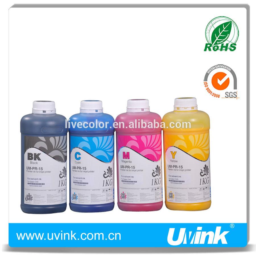 Best selling mild U- Solvent ink for Konica 512i