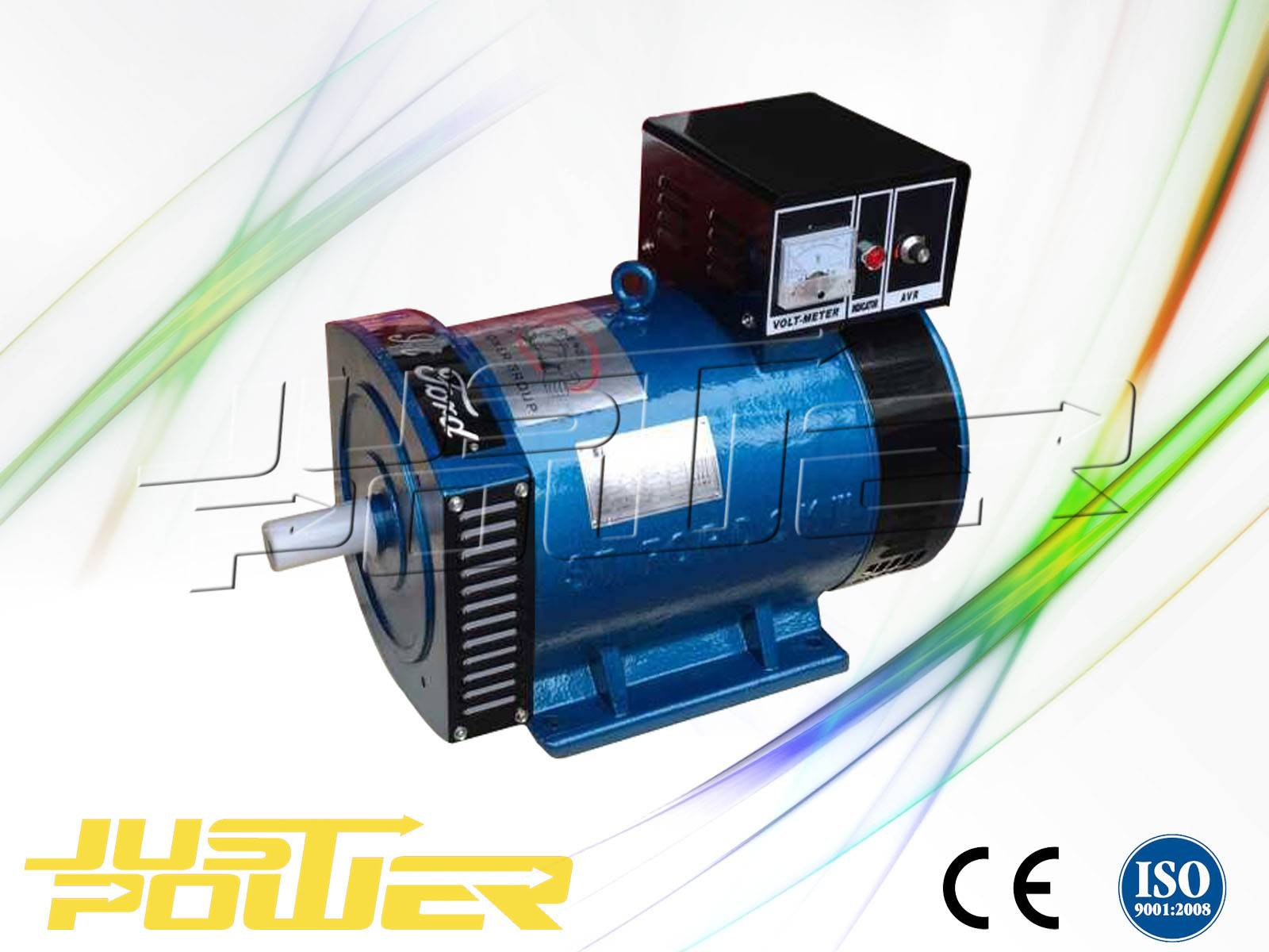 ST Series Single Phase Alternator Generator For Diesel Engine