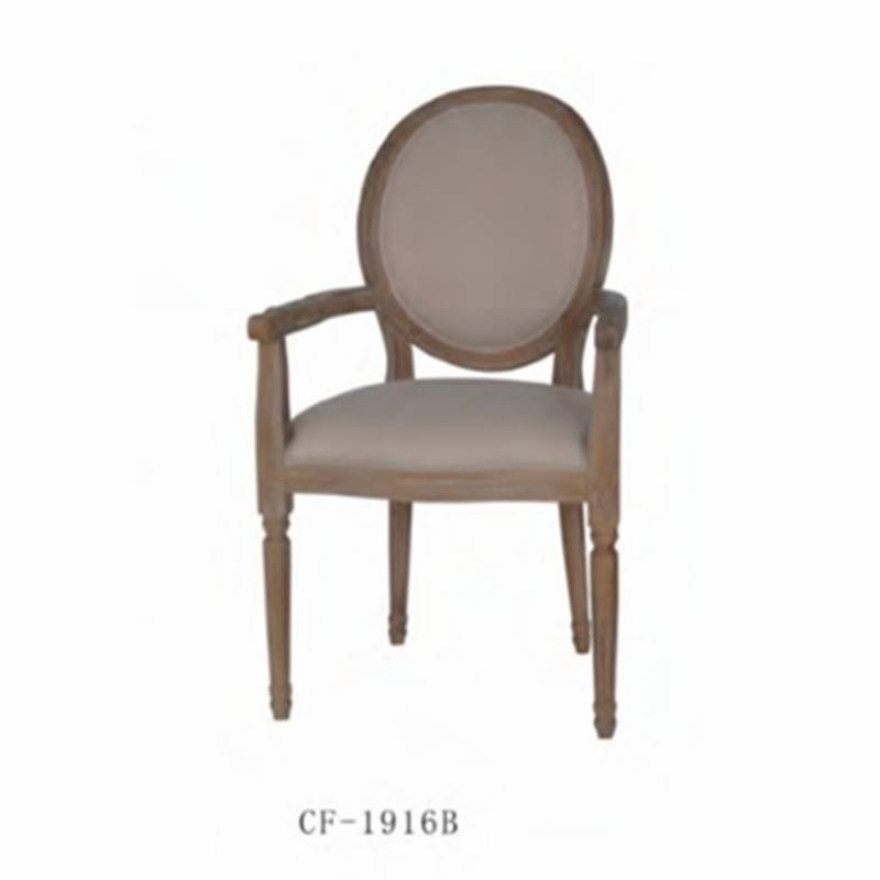 Solid Wood French Louis Style Dining Chair CF-1916b
