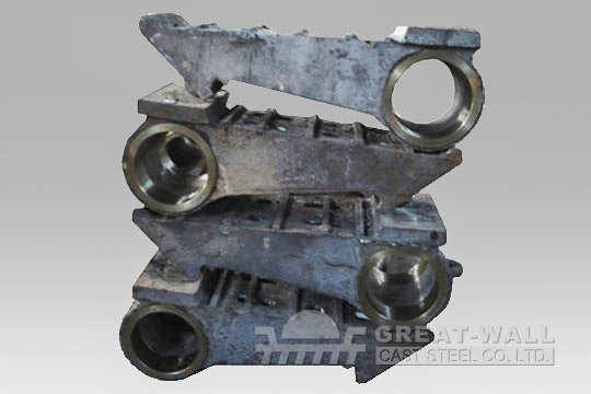 crusher Fixed and swing Jaw plate