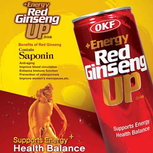 OKF Red Ginseng With Rod (Energy Drink)
