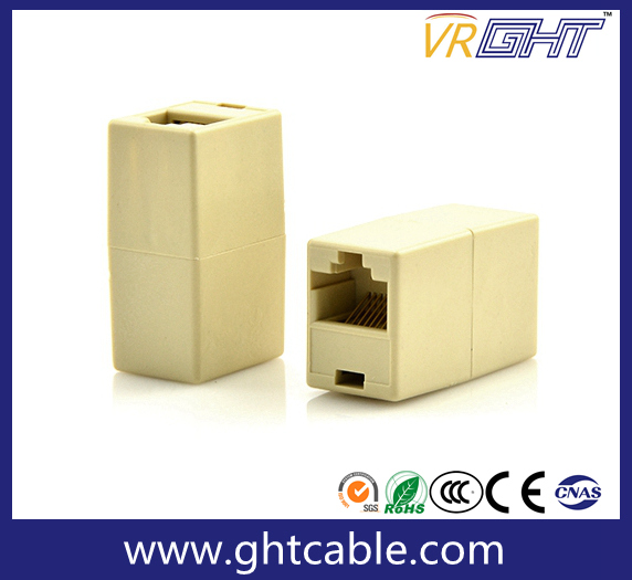 Connector RJ45 Cable Dual-Head Network Extension of Interface Adapter