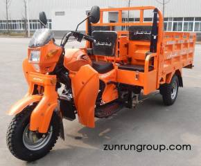 ZR200ZH-2P 200cc water cooled 2 passengers cross box heavy load motor cargo tricycle