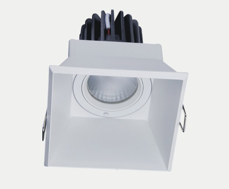 IP20 12W LED Spot light CE ROHS 85-265V Aluminum in high quality and long life led ceiling light