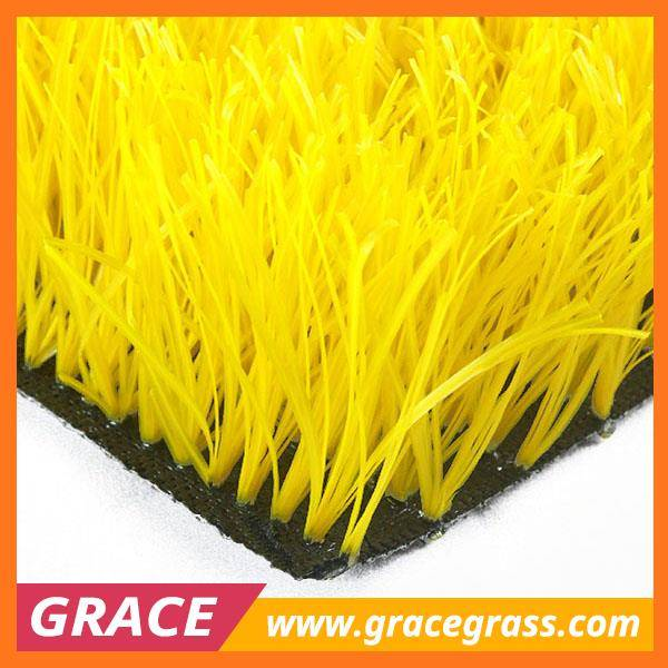 Professional artificial grass woven for soccer grass
