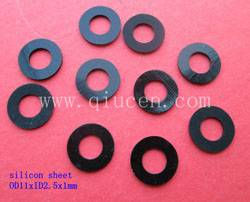 screw with rubber washer