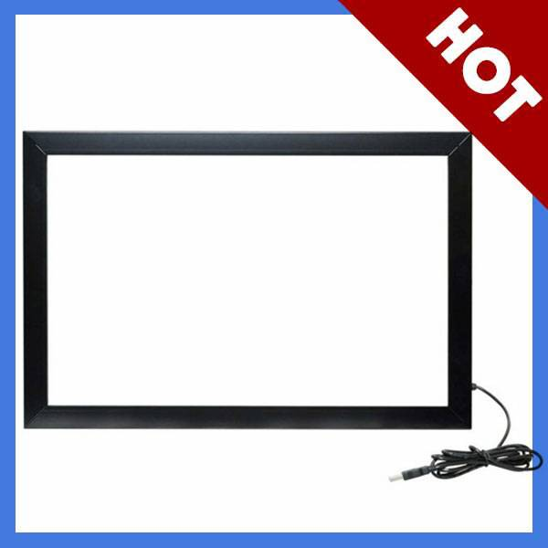 """17"""" Anti-Sunlight IR simulating 2 points touch screen"""