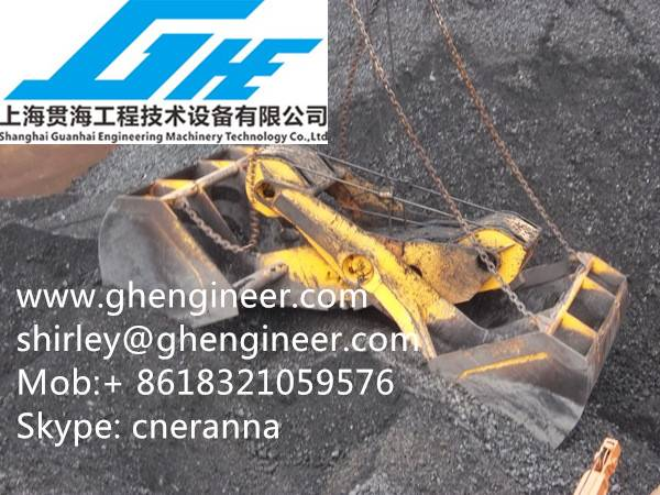 30T Four Wire Rope Clamshell Scissor Grab