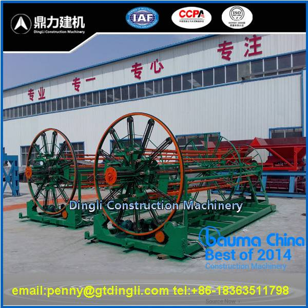reinforced concrete pipe wire meshing machine