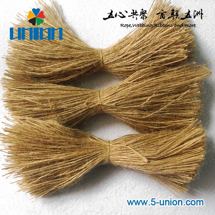 1mm jute material environmental rope for tag/ loop
