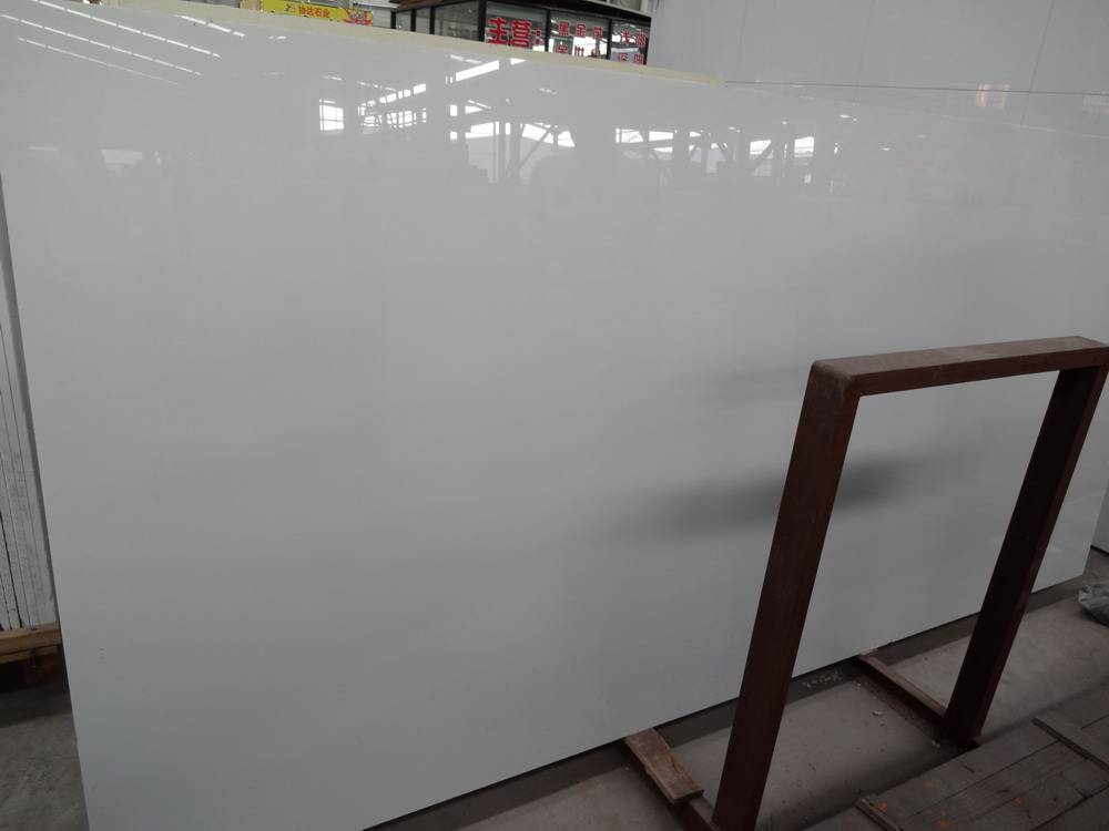 White Crystallized Glass Stone