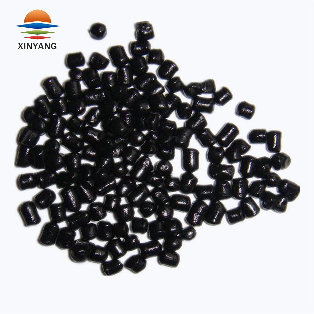 Less amount used non-pollution black plastic granules for cable