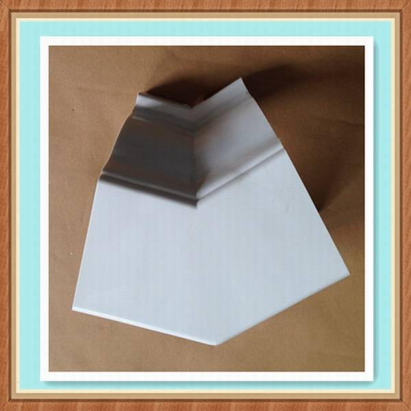 Plastic building material PVC rain gutter, PVC Gutter Accessaries 135 Inside corner