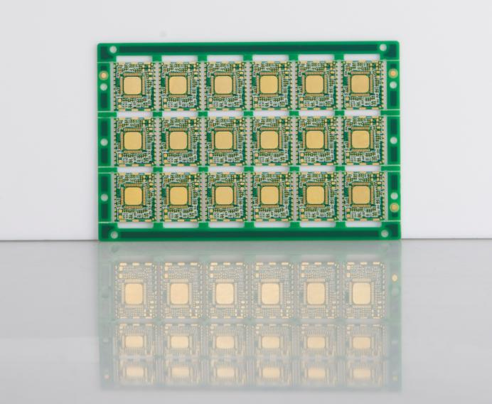 Professional 8 Layers Pcb Machine Electronic Circuit Board With Edge Half Plated Holes