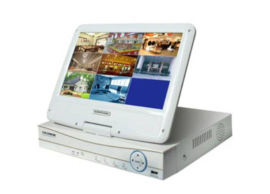 New Smart DVR Integrated With Screen 10.1inch LCD Combo DVR CY-H5108A