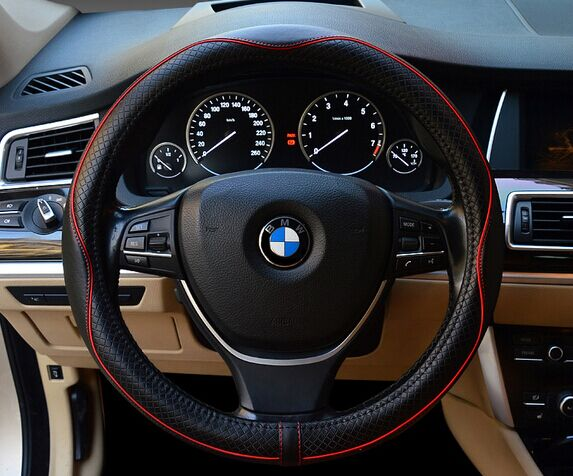 KINGE Leather Steering Wheel Cover
