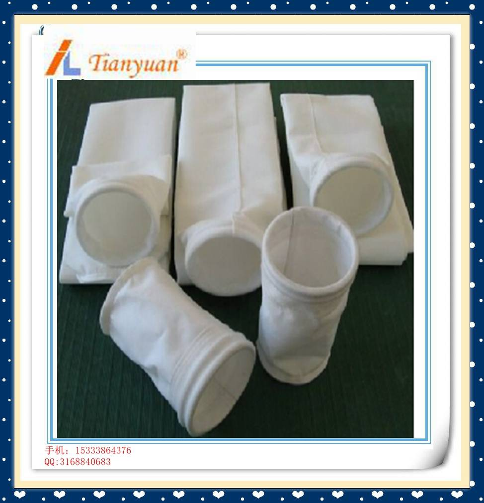 polyester needle felt cement dust collector filter bag for house dust filter