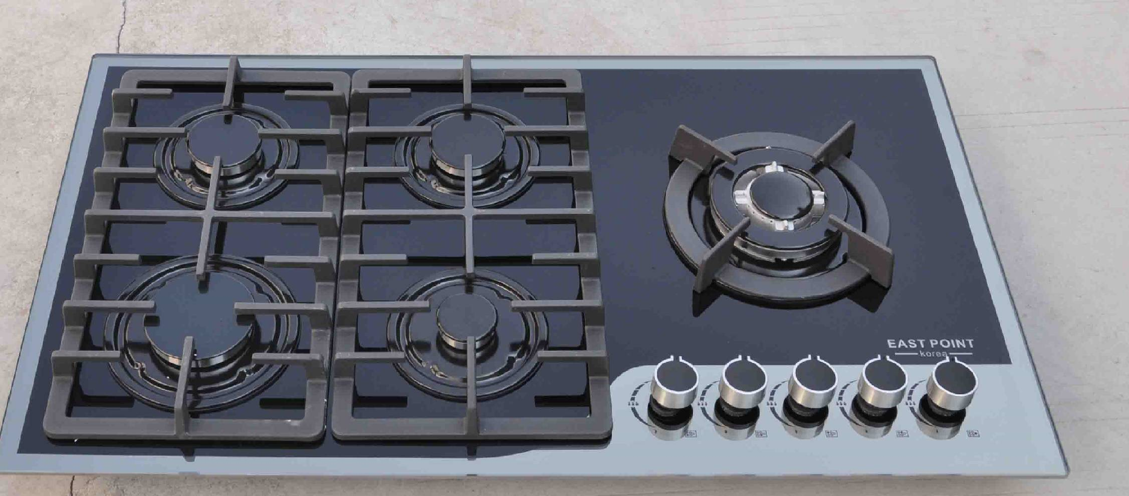 Built in Glass Gas Hob gas stove