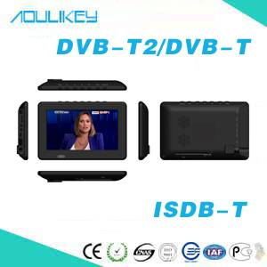 7inch HD Portable TV/TV Box with FM for DVB-T2/ ISDB-T  DT-701