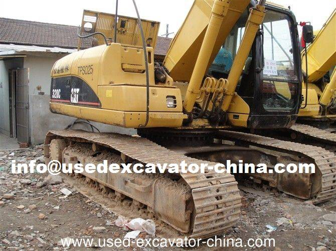 Used CAT excavator 320C for sale in China