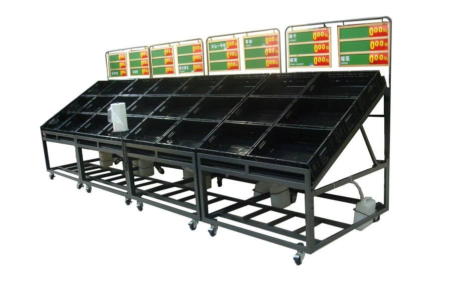 Fruit and Veg Display Unit, Supermarket Display Fixture