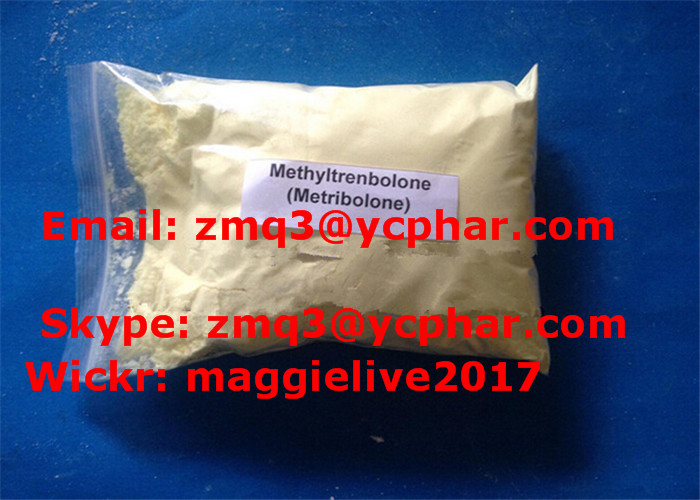 Factory Supplying Raw Methyltrienolone for Muscle Growth Methyltrenbolone