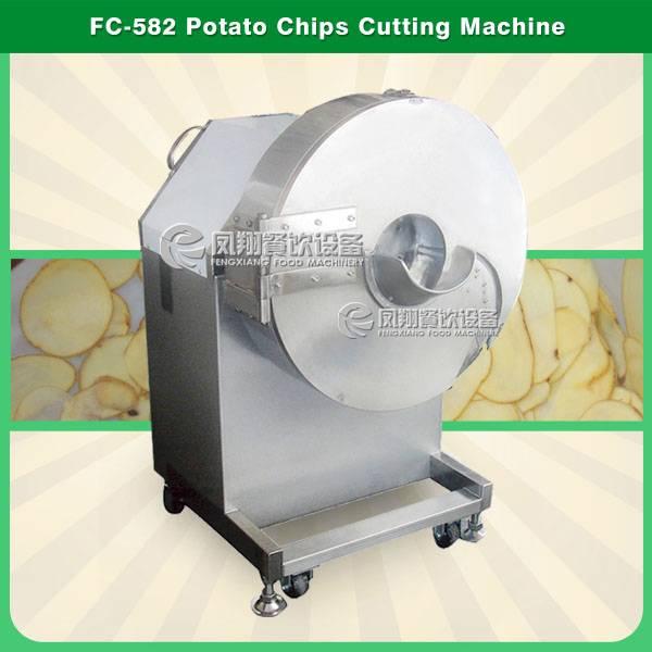 FC-582 Large Potato chips slicer