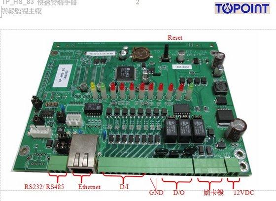 TP-HS-83 Email Alert Sender Remote DI DO Detection