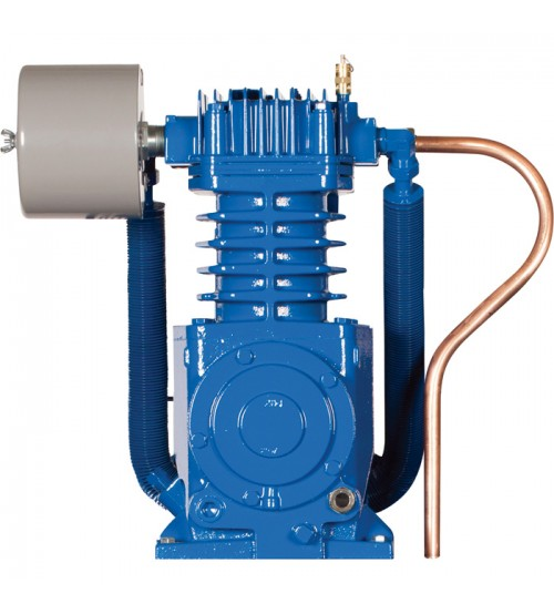 Quincy Quincy QT-7.5 Basic Compressor Pump - For 5 & 7.5 HP Quincy QT Compressors, Two-Stage, Splash