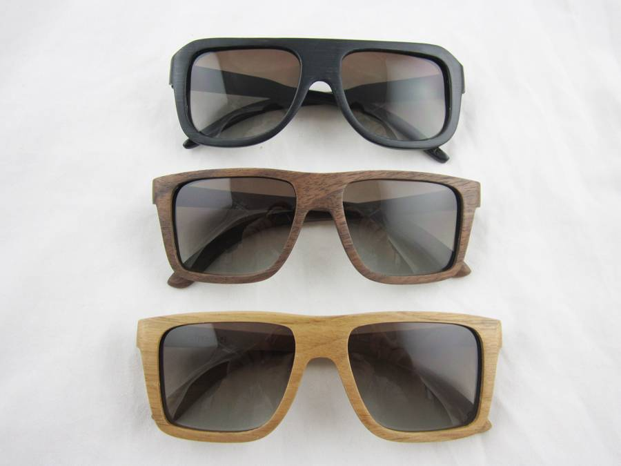 Sunglasses for 2015 eco-friendly wooden bamboo sun glasses