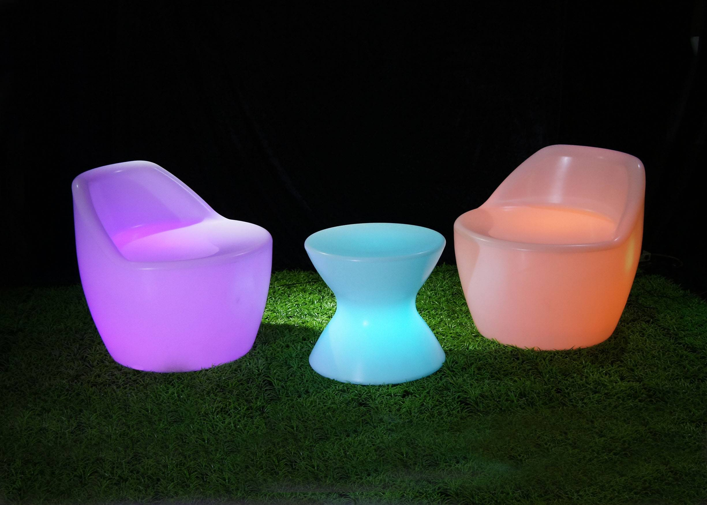 Bar furniture&led table&led furniture&led bar chair&Chair led furniture
