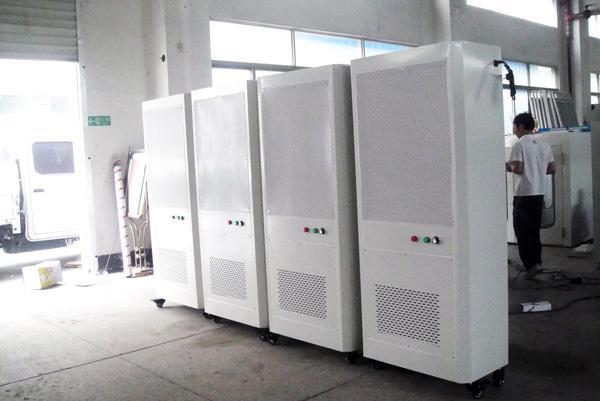 Mobile Air Self-Purifier/Air Cleaner/HEPA Blower