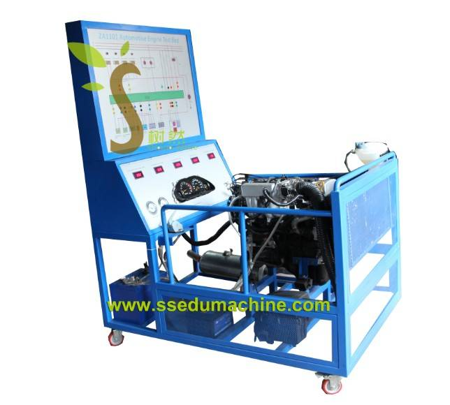 Automobile Trainer Gasoline Engine Training Stand Teaching Equipment