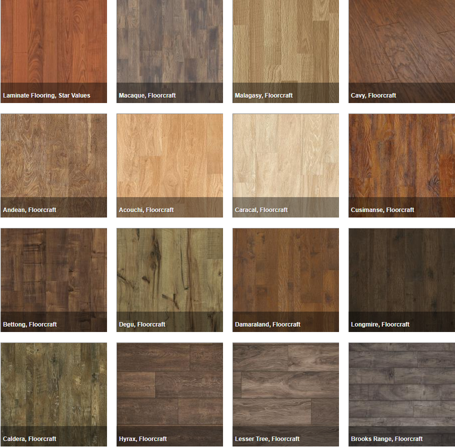 Laminate Flooring Varies pattern HDF for Commercial