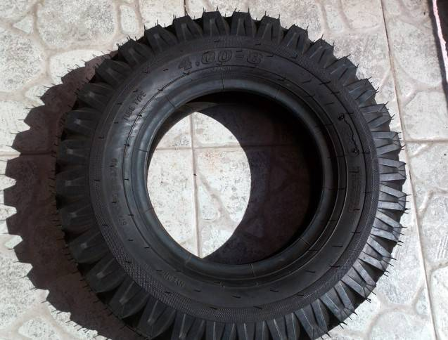 Tricycle tire 400-8 motorcycle tyre 4.00-8