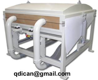 Vacuum pillow production line