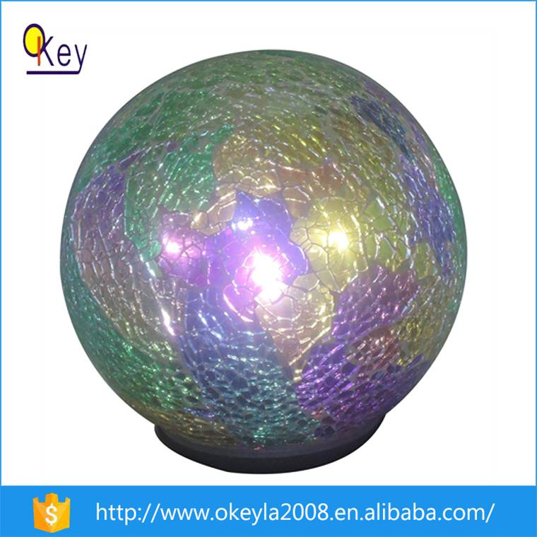 Hanging LED Mosaic Glass Lights For Home