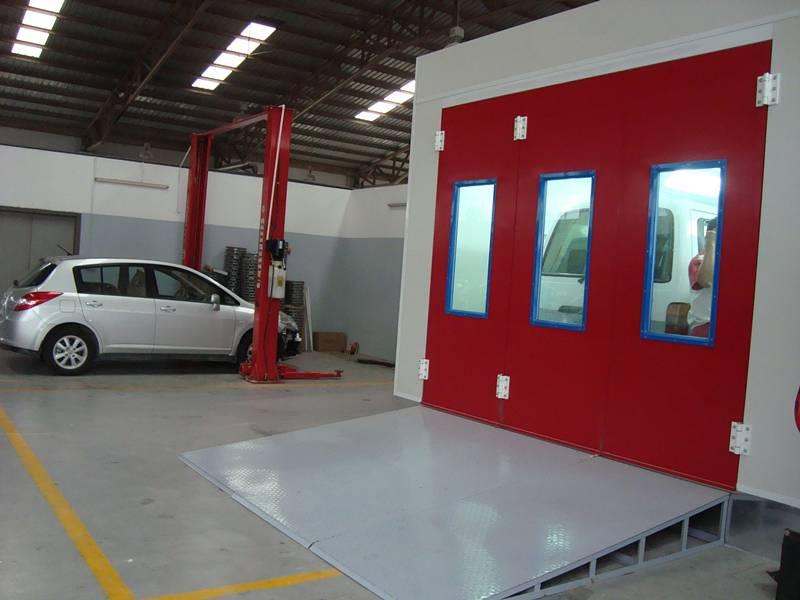 Downdraft Car Painting Paint Spray Booth Auto Car Maintenance