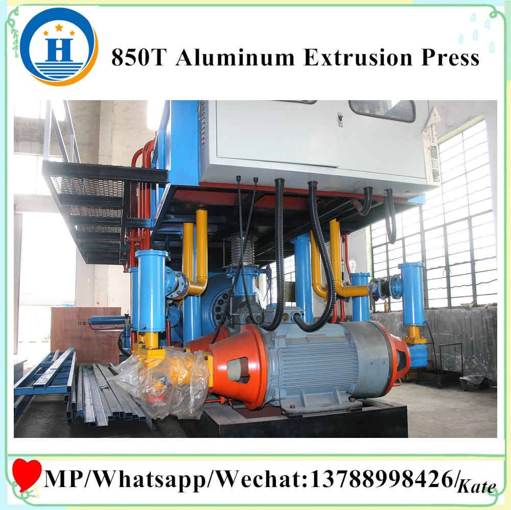 aluminum extrusion plant machinery
